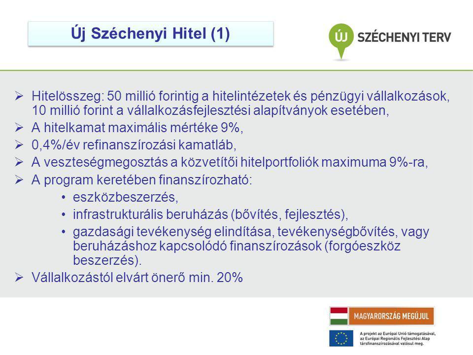 Új Széchenyi Hitel (1)