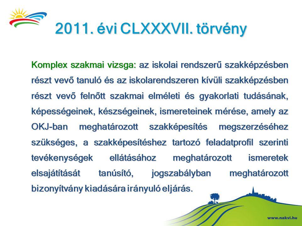 2011. évi CLXXXVII. törvény