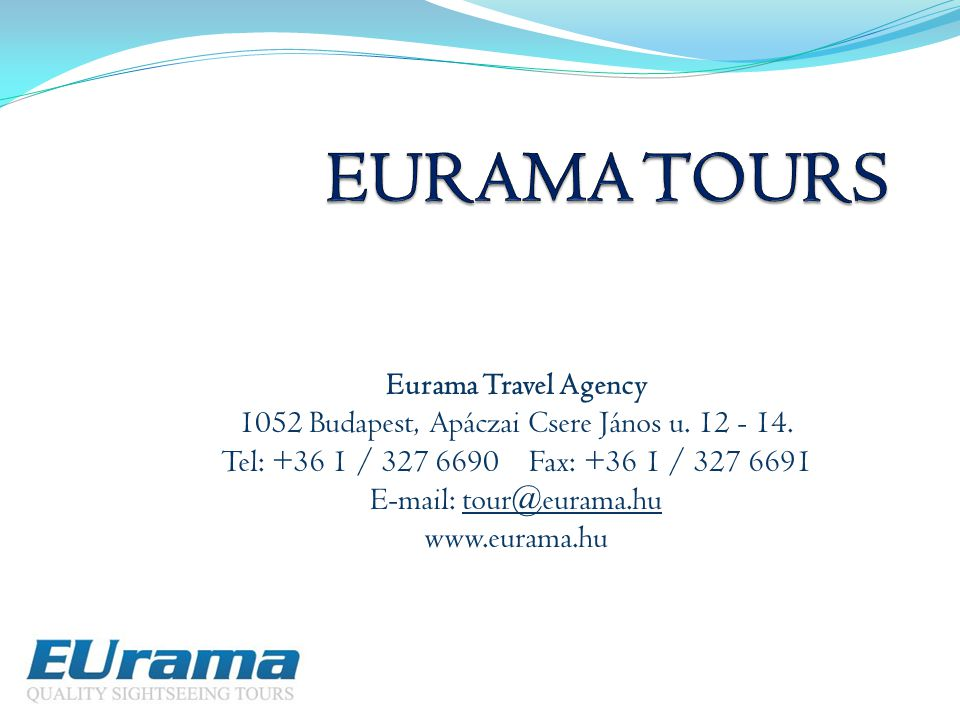 EURAMA TOURS Eurama Travel Agency