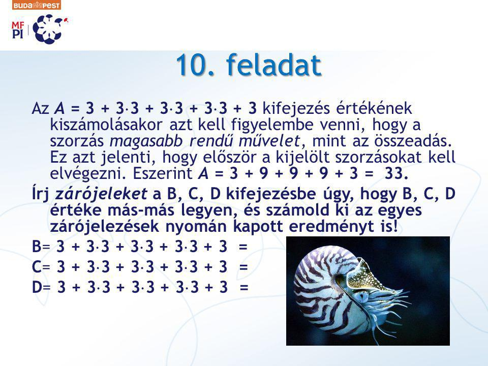 10. feladat