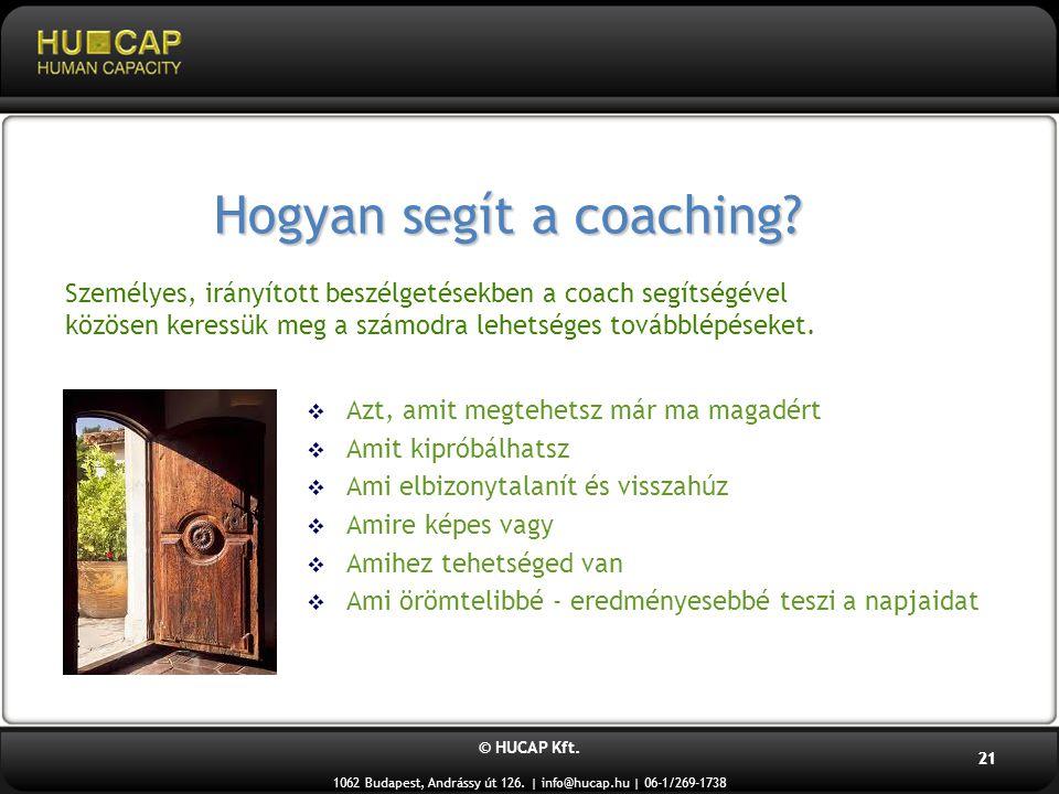 Hogyan segít a coaching