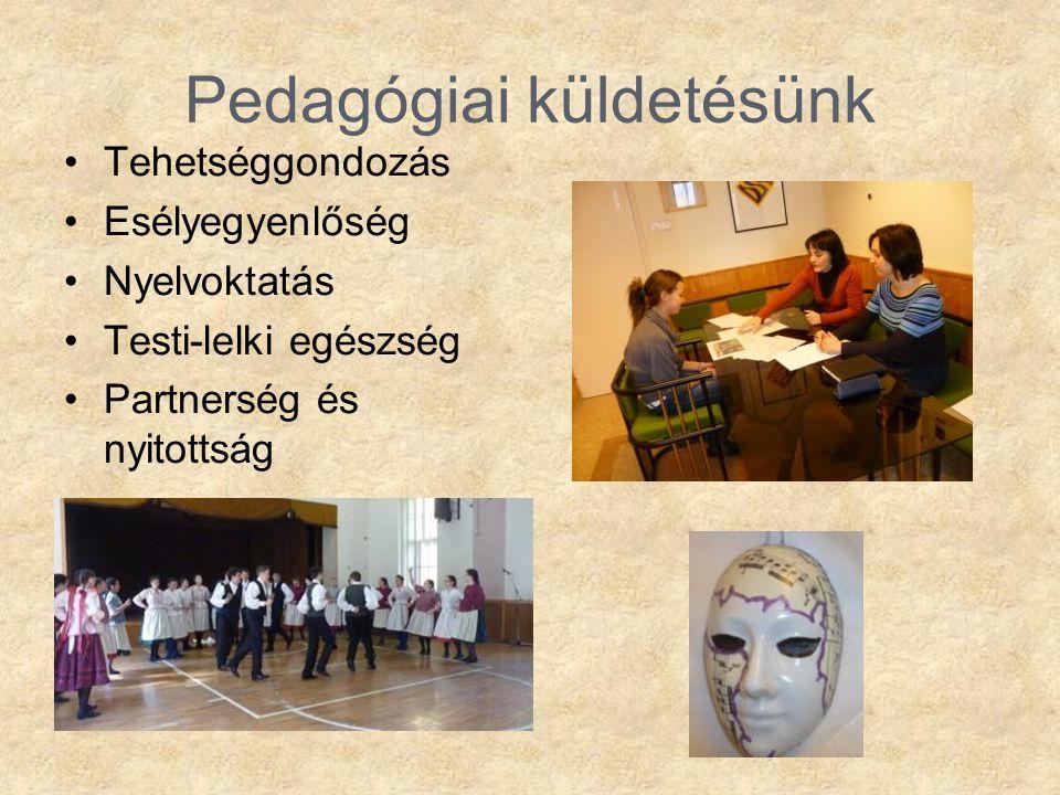 Pedagógiai küldetésünk