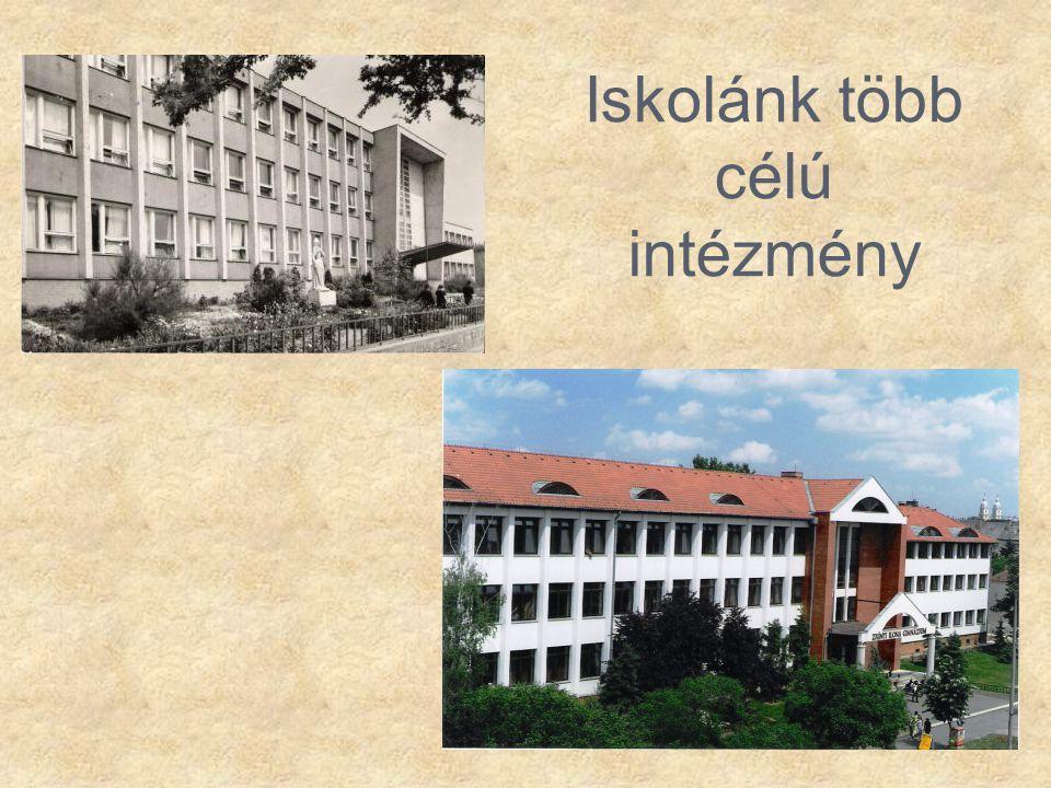 Iskolánk több célú intézmény