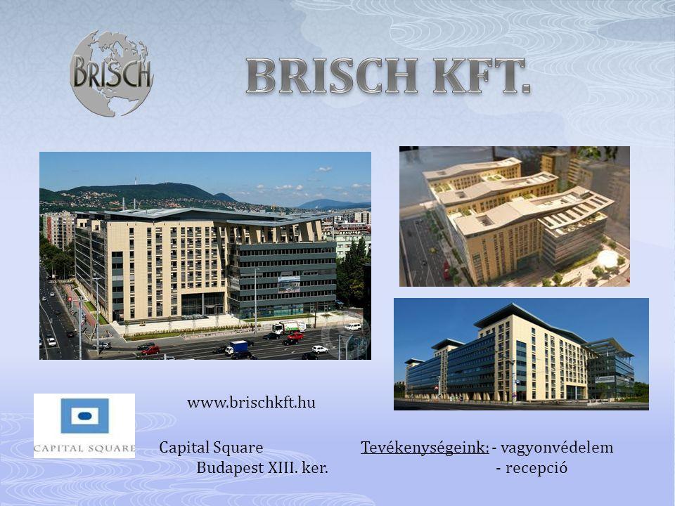 BRISCH KFT. www.brischkft.hu