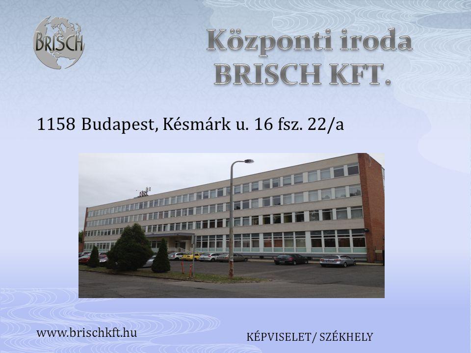 Központi iroda BRISCH KFT.
