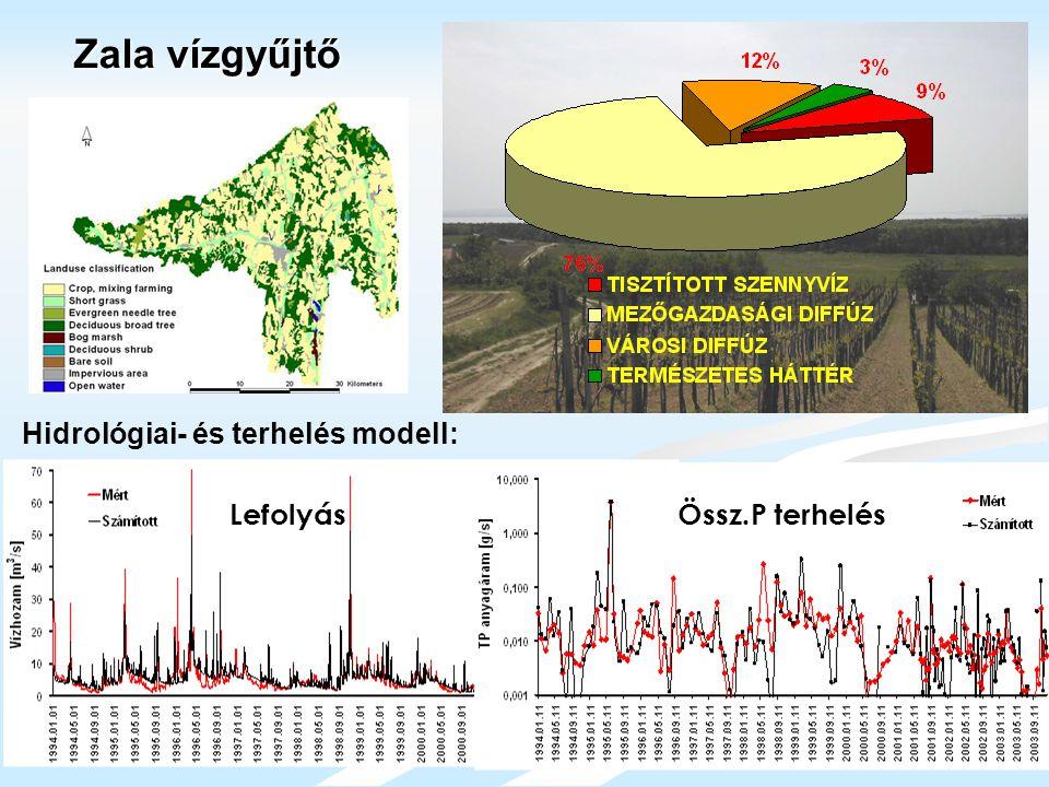 Hidrológiai- és terhelés modell: