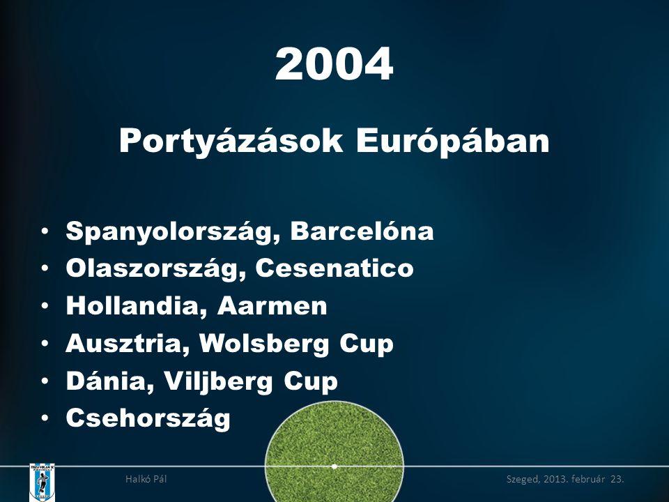2004 Portyázások Európában Spanyolország, Barcelóna