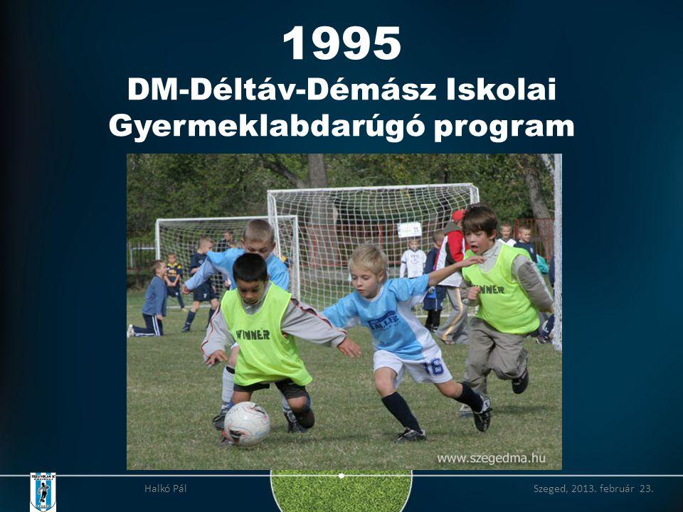 1995 DM-Déltáv-Démász Iskolai Gyermeklabdarúgó program