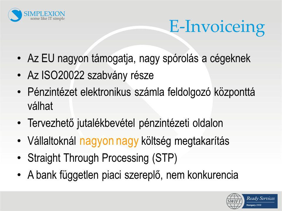 E-Invoiceing Az EU nagyon támogatja, nagy spórolás a cégeknek
