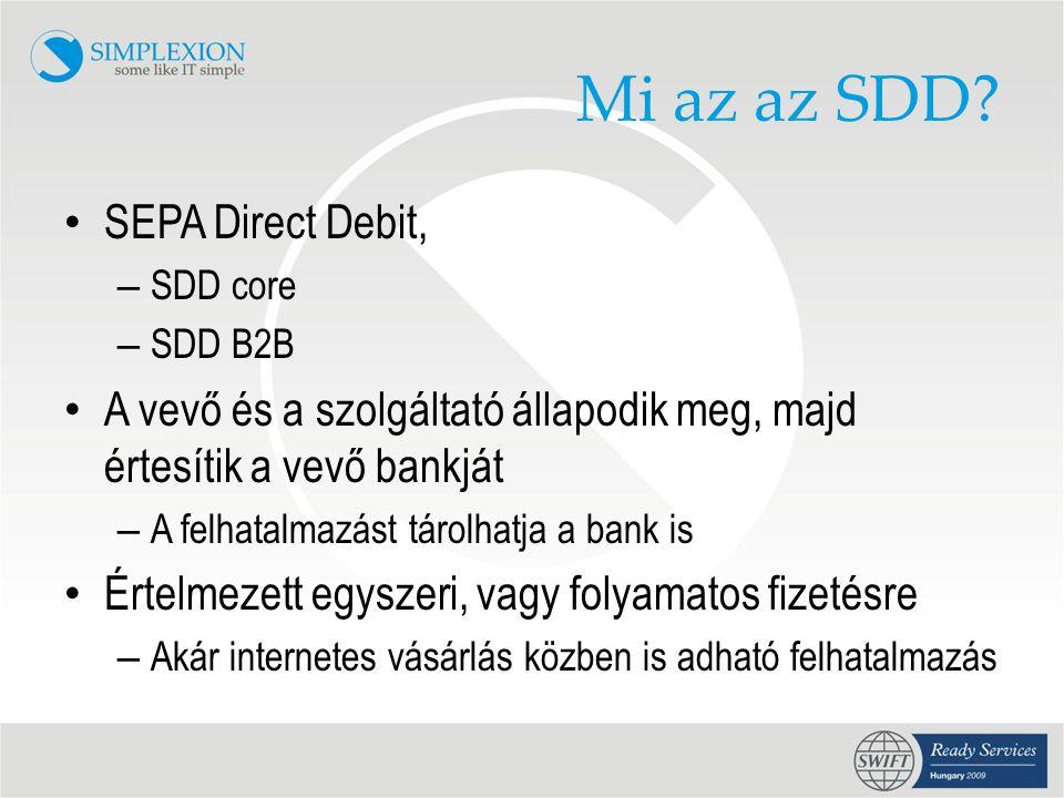 Mi az az SDD SEPA Direct Debit,