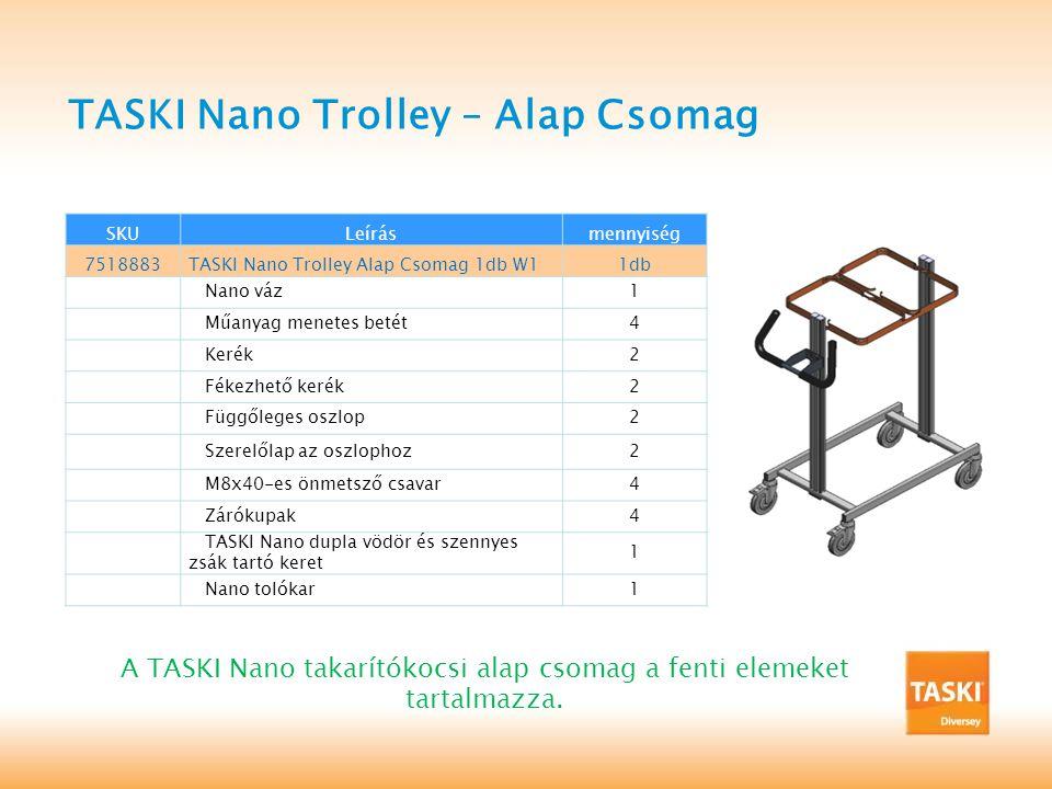TASKI Nano Trolley – Alap Csomag