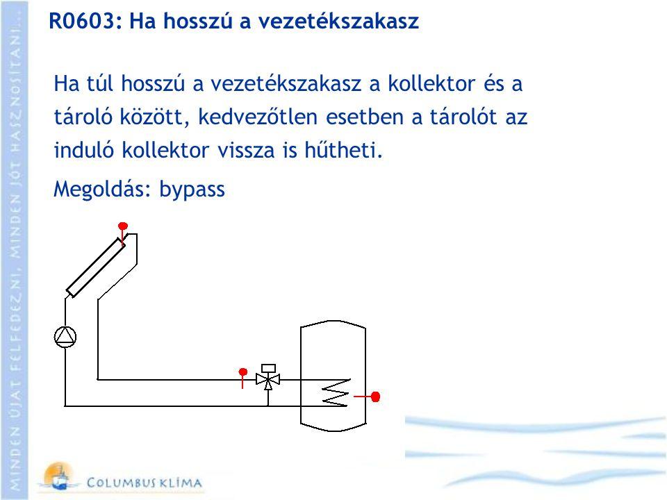 R0603: Ha hosszú a vezetékszakasz