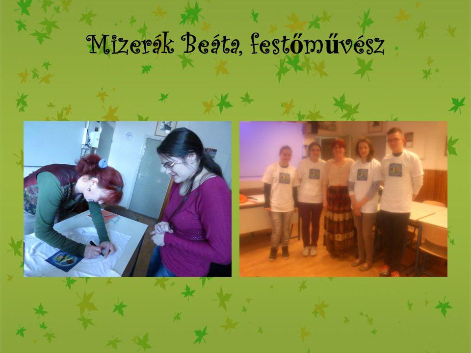 Mizerák Beáta, festőművész