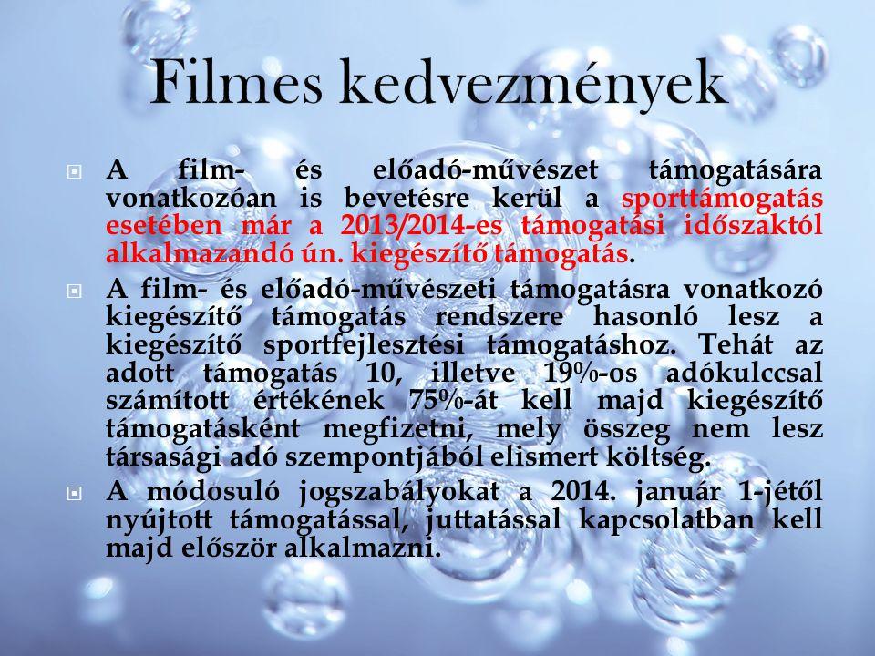 Filmes kedvezmények