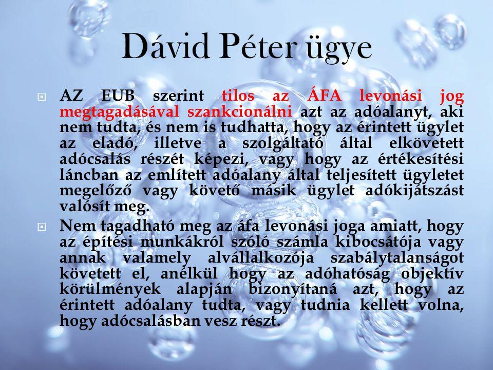 Dávid Péter ügye