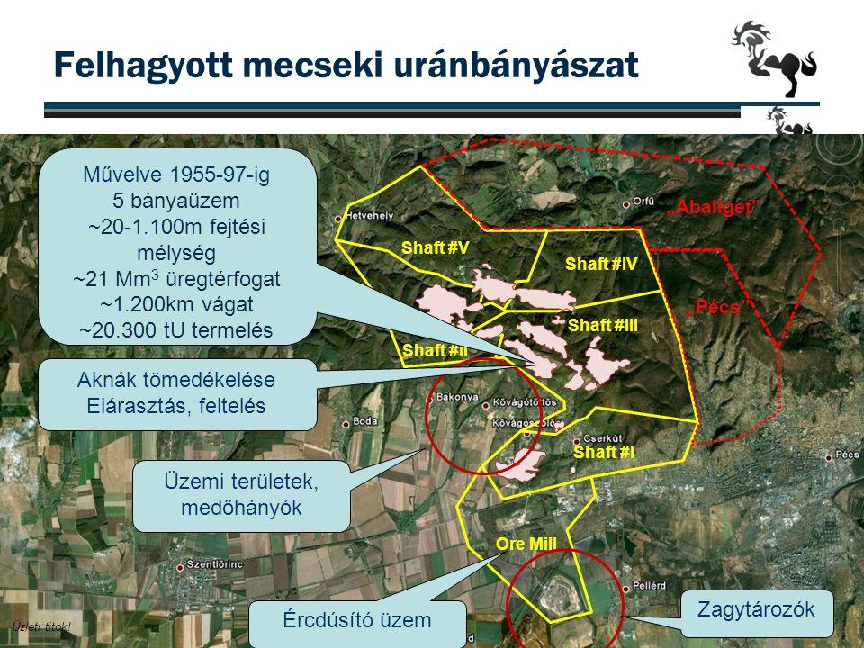 Felhagyott mecseki uránbányászat