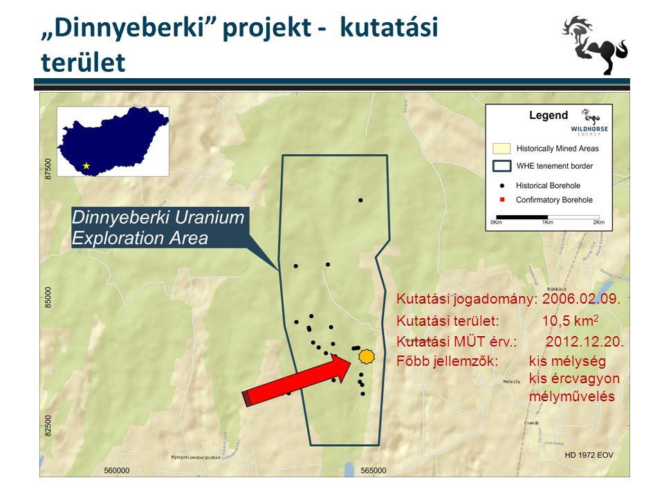 """""""Dinnyeberki projekt - kutatási terület"""