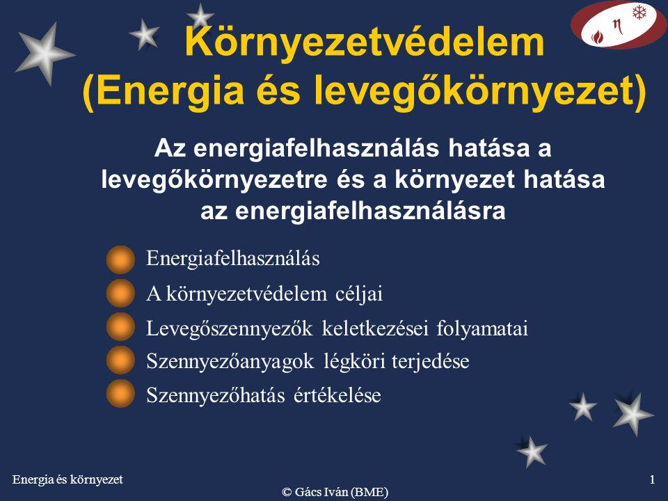 Környezetvédelem (Energia és levegőkörnyezet)