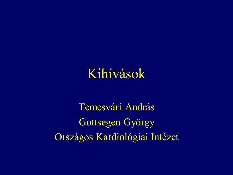 Temesvári András Gottsegen György Országos Kardiológiai Intézet