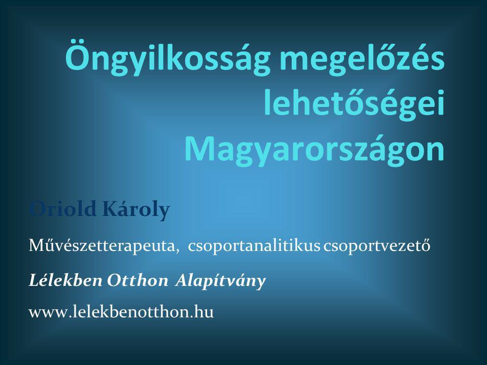 Öngyilkosság megelőzés lehetőségei Magyarországon