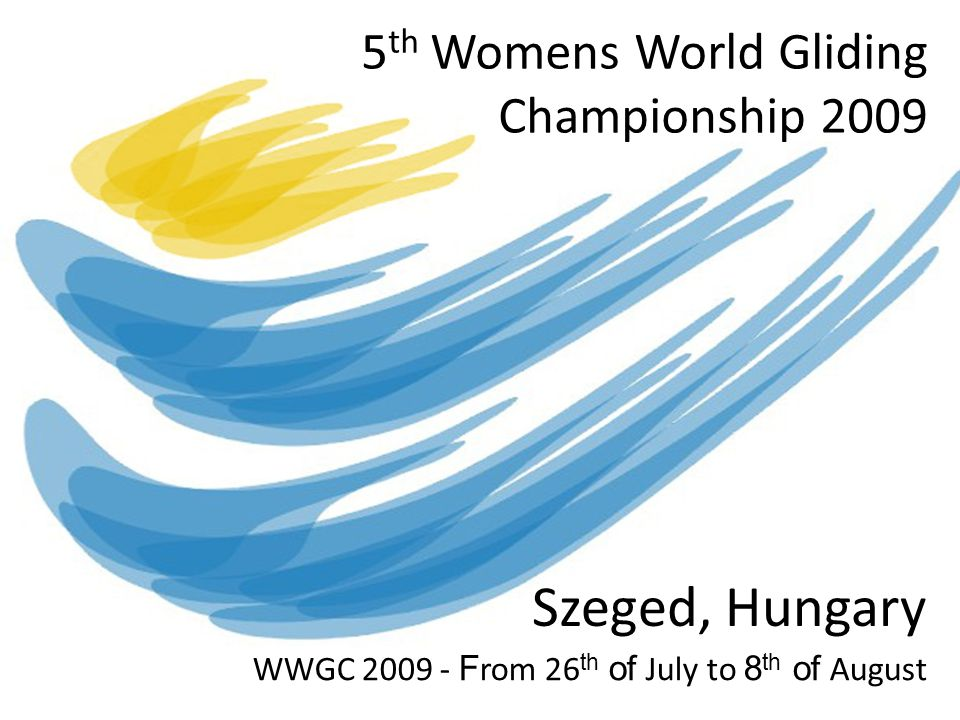 5th Womens World Gliding Championship 2009