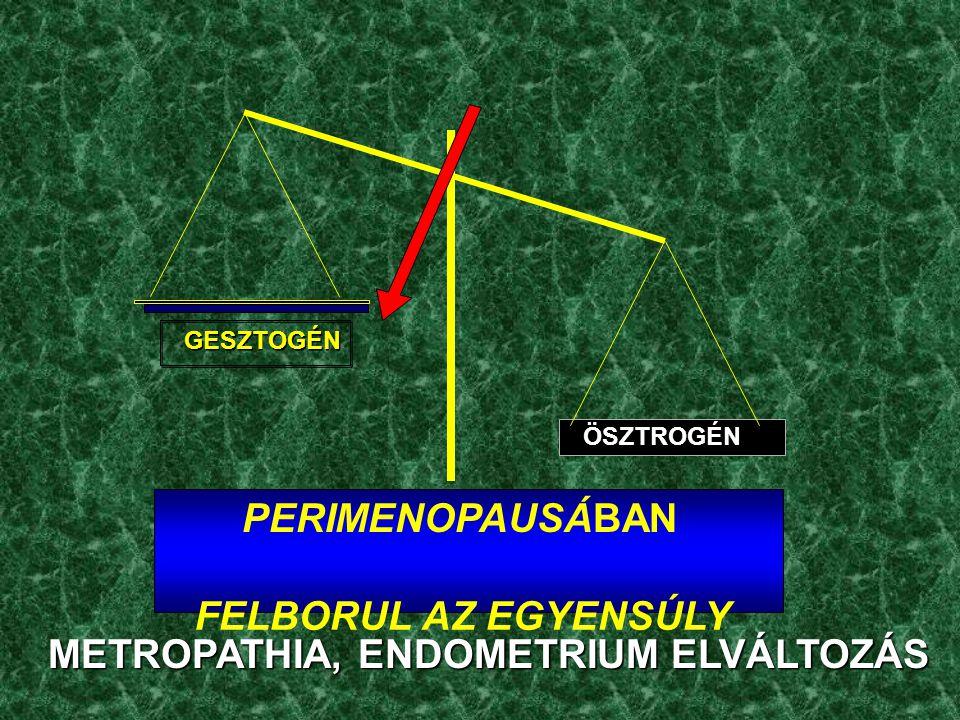 METROPATHIA, ENDOMETRIUM ELVÁLTOZÁS