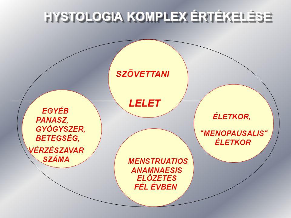 HYSTOLOGIA KOMPLEX ÉRTÉKELÉSE