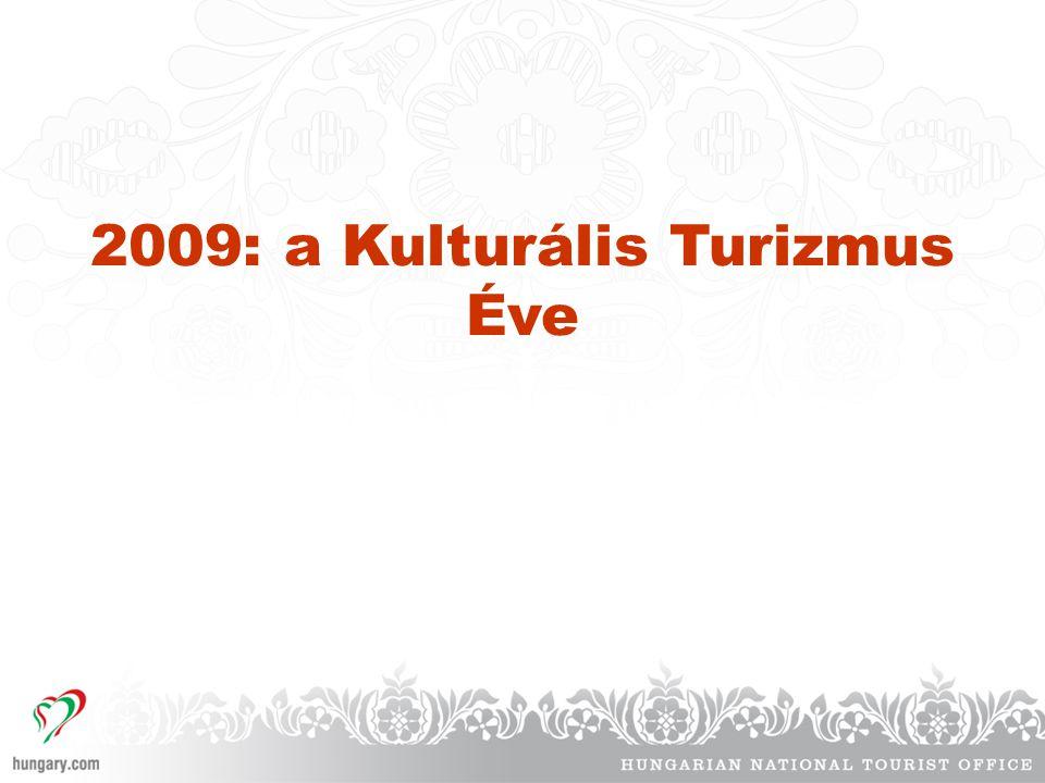 2009: a Kulturális Turizmus Éve