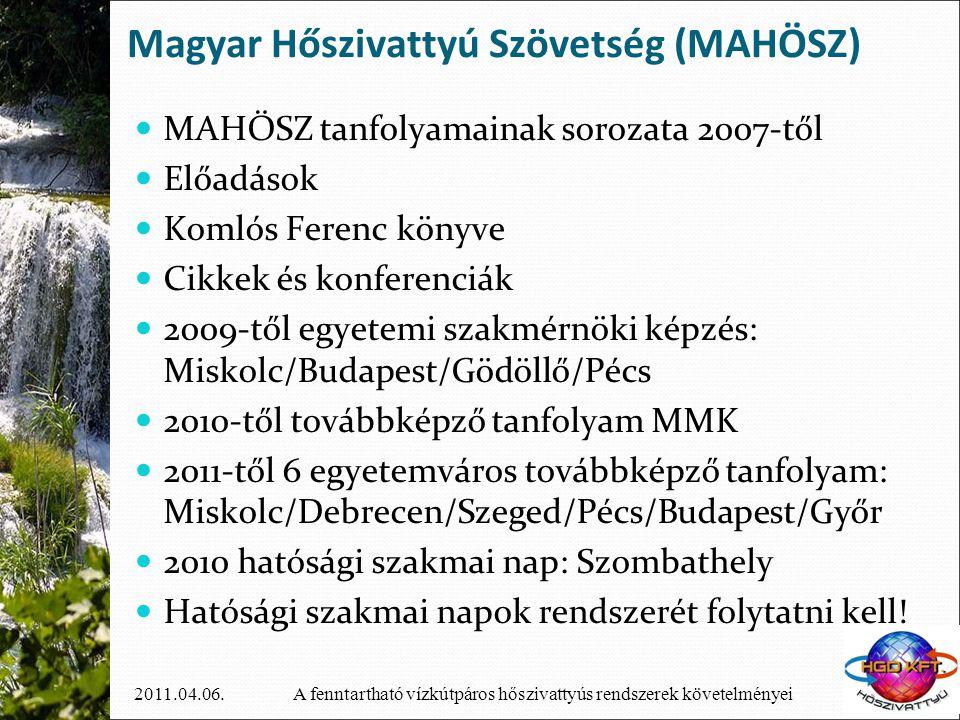 Magyar Hőszivattyú Szövetség (MAHÖSZ)