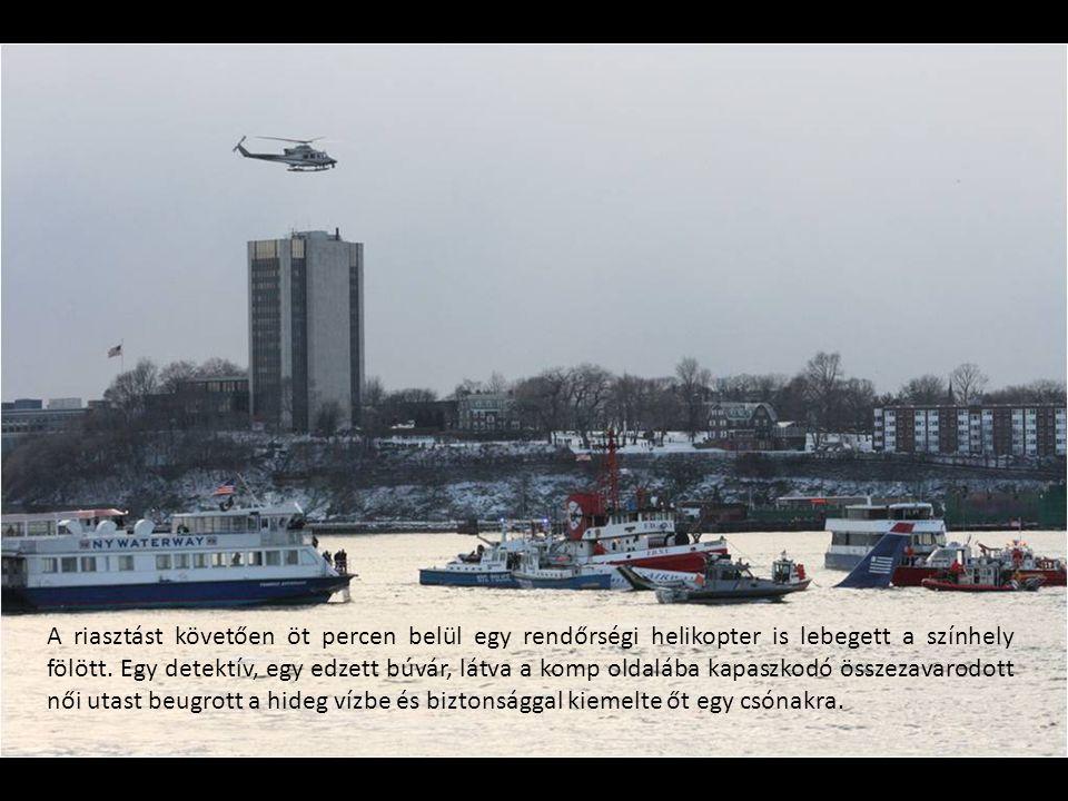 A riasztást követően öt percen belül egy rendőrségi helikopter is lebegett a színhely fölött.