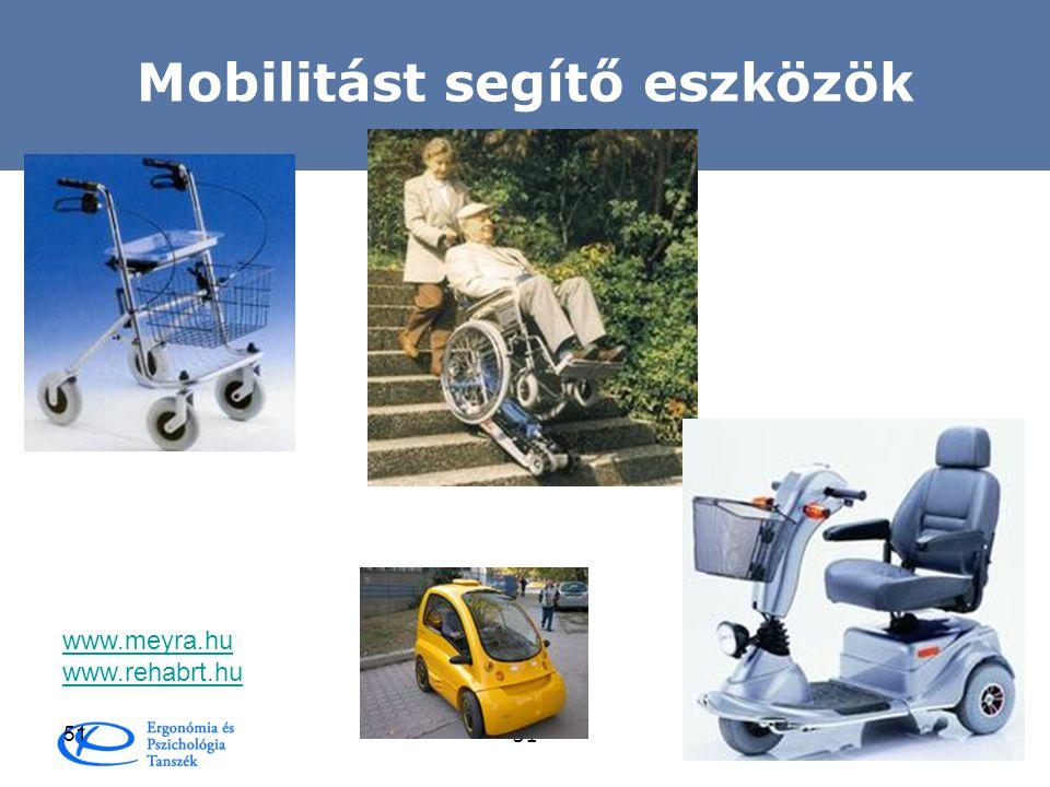 Mobilitást segítő eszközök