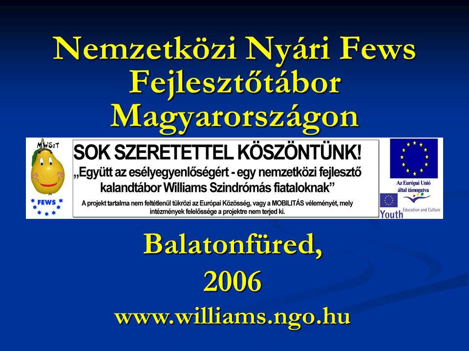 Nemzetközi Nyári Fews Fejlesztőtábor Magyarországon