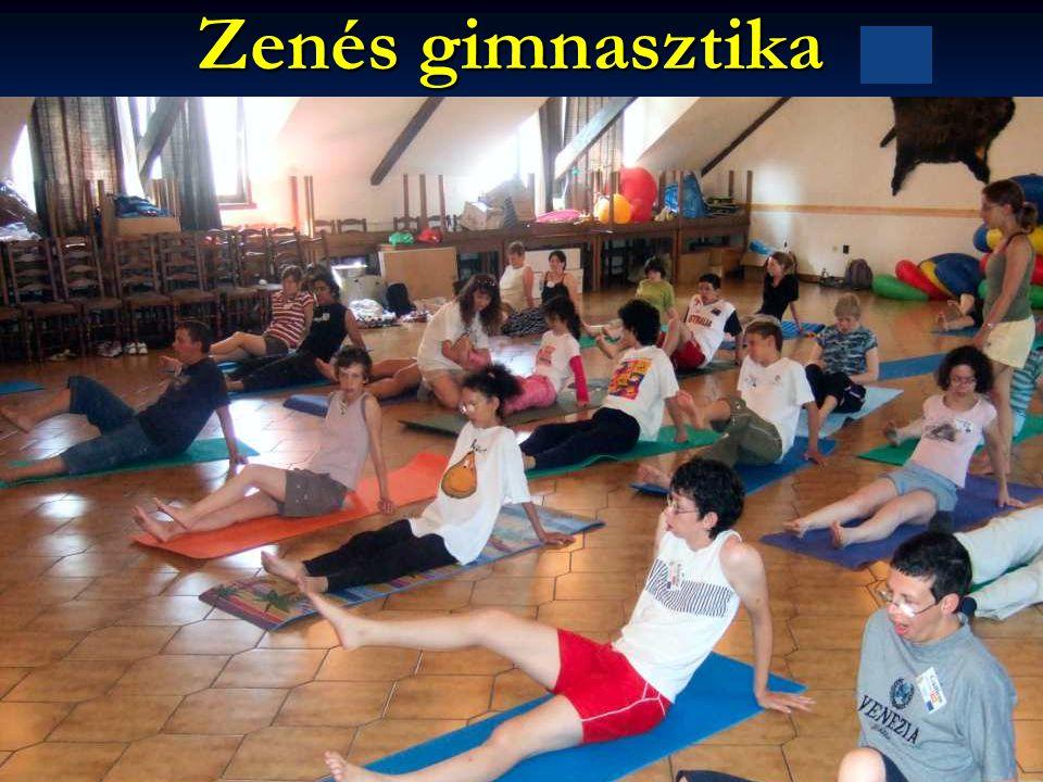 Zenés gimnasztika