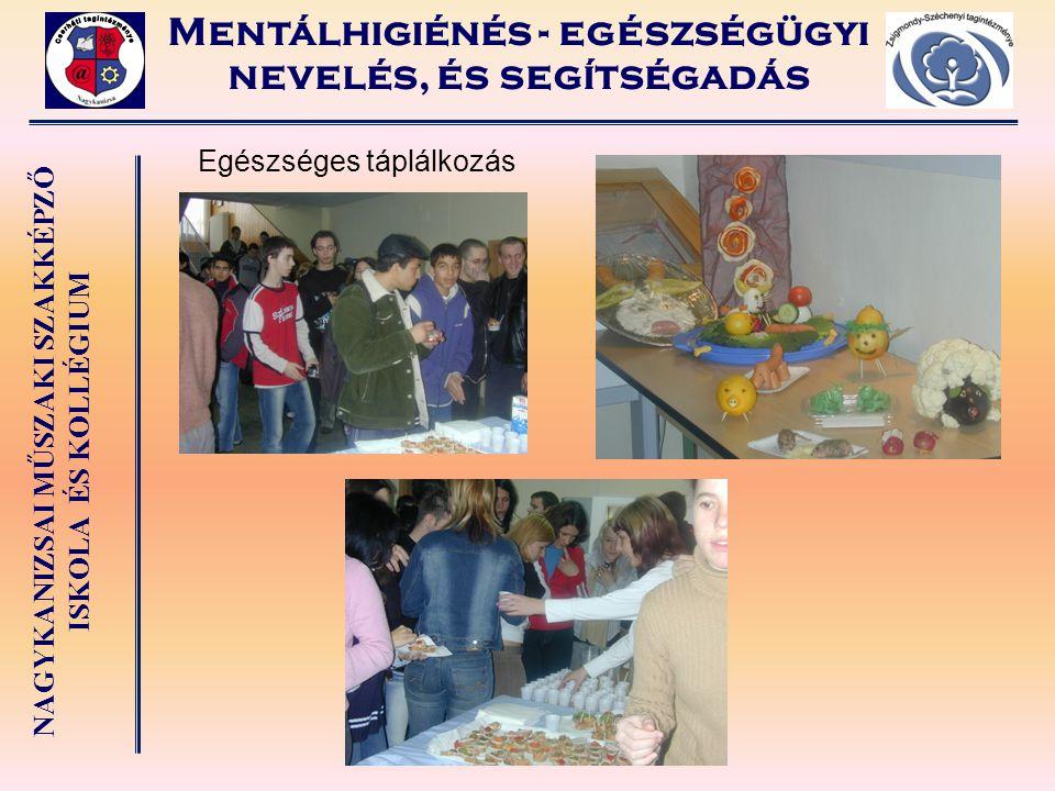 Mentálhigiénés - egészségügyi nevelés, és segítségadás