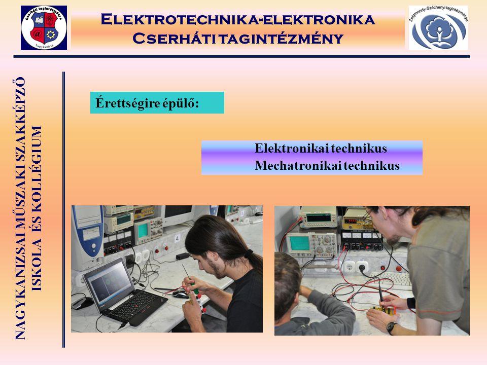 Elektrotechnika-elektronika Cserháti tagintézmény
