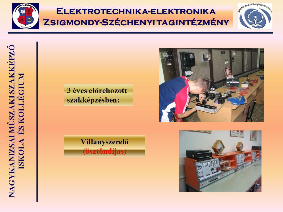 Elektrotechnika-elektronika Zsigmondy-Széchenyi tagintézmény