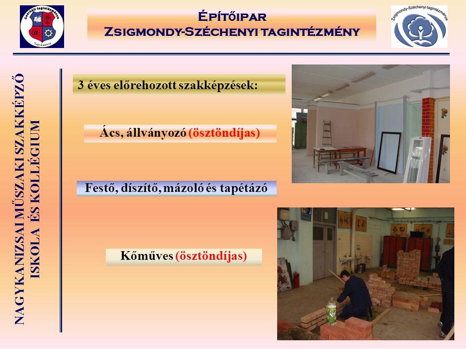 Építőipar Zsigmondy-Széchenyi tagintézmény