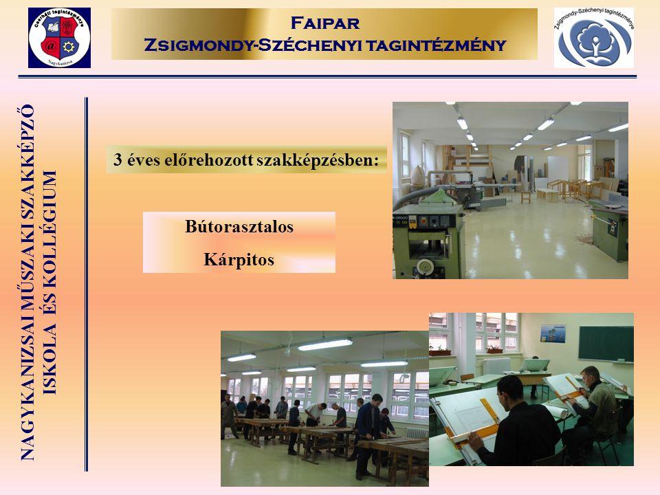 Faipar Zsigmondy-Széchenyi tagintézmény