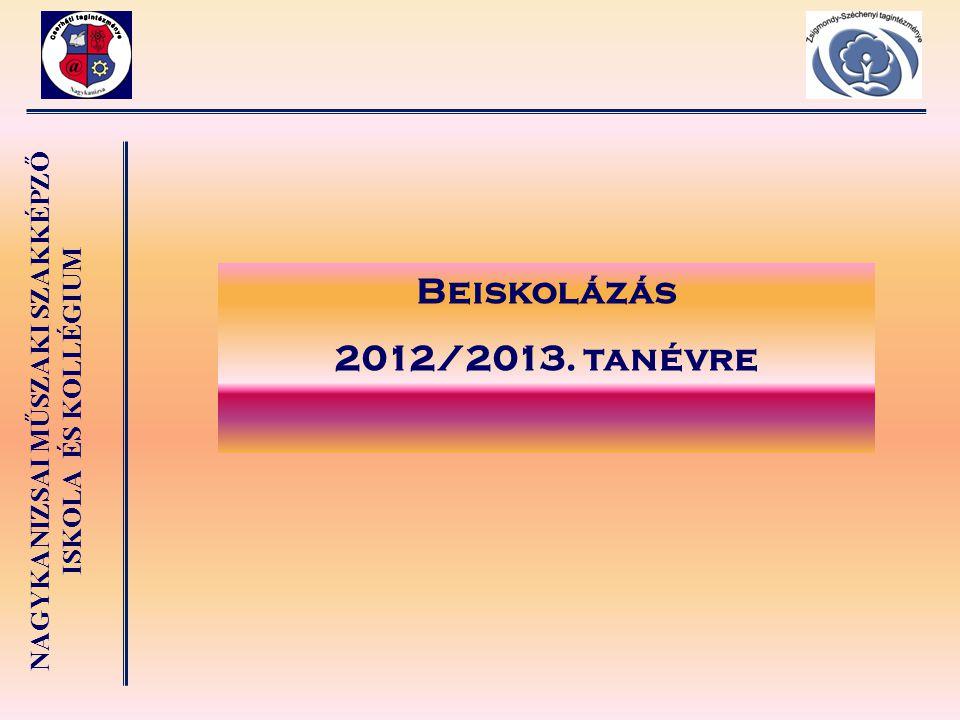 Beiskolázás 2012/2013. tanévre 30