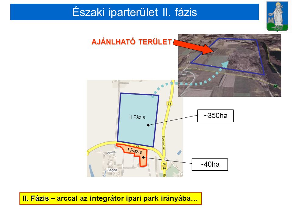Északi iparterület II. fázis