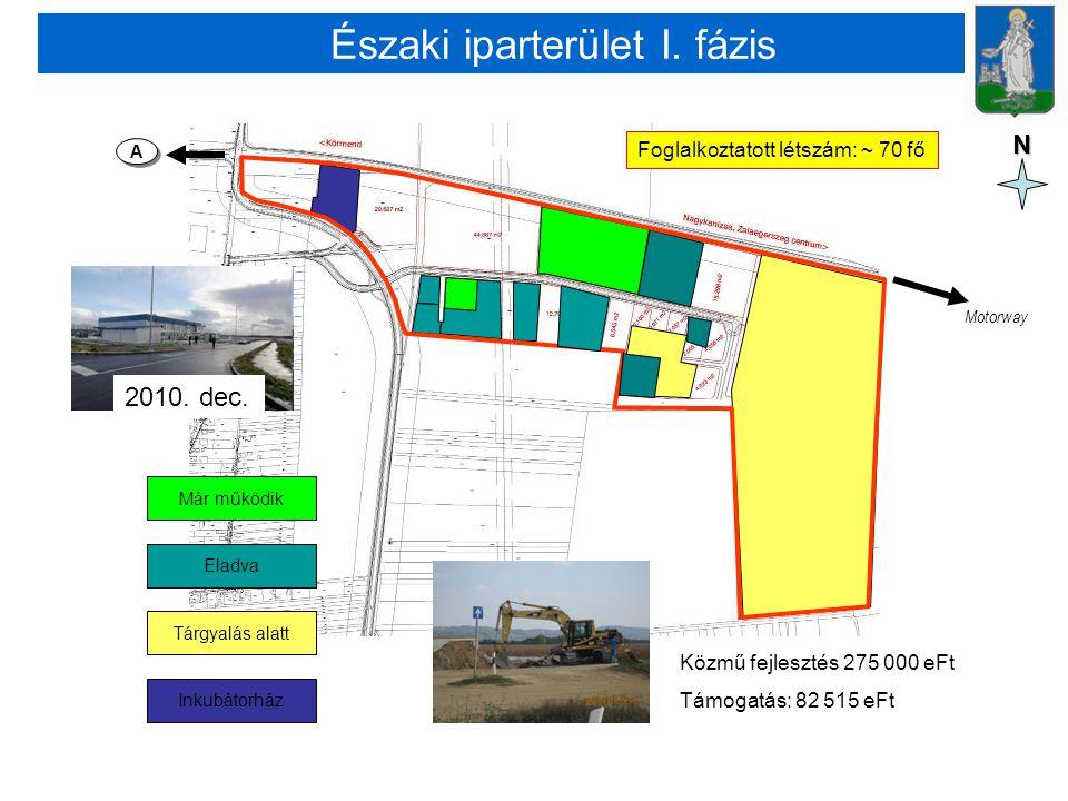 Északi iparterület I. fázis