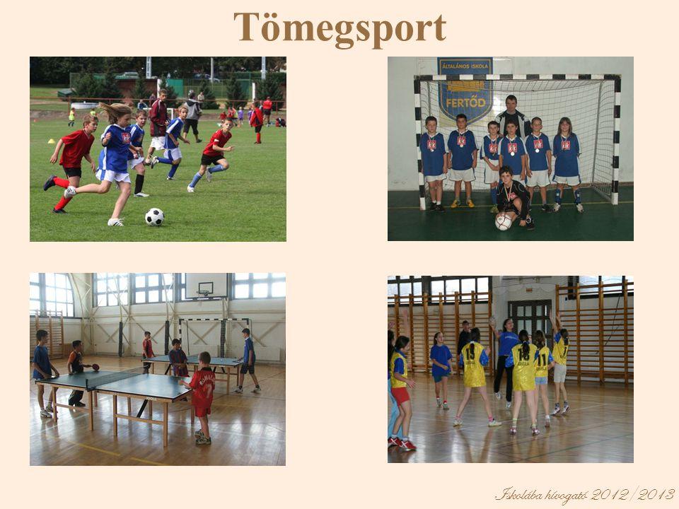 Tömegsport Iskolába hívogató 2012/2013