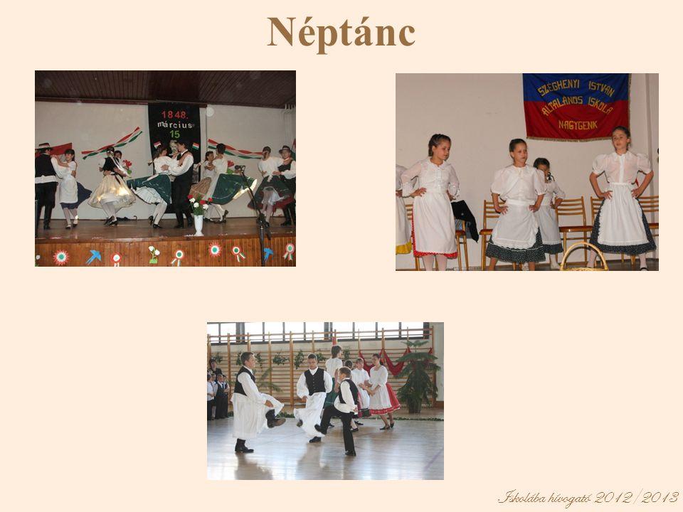 Néptánc Iskolába hívogató 2012/2013