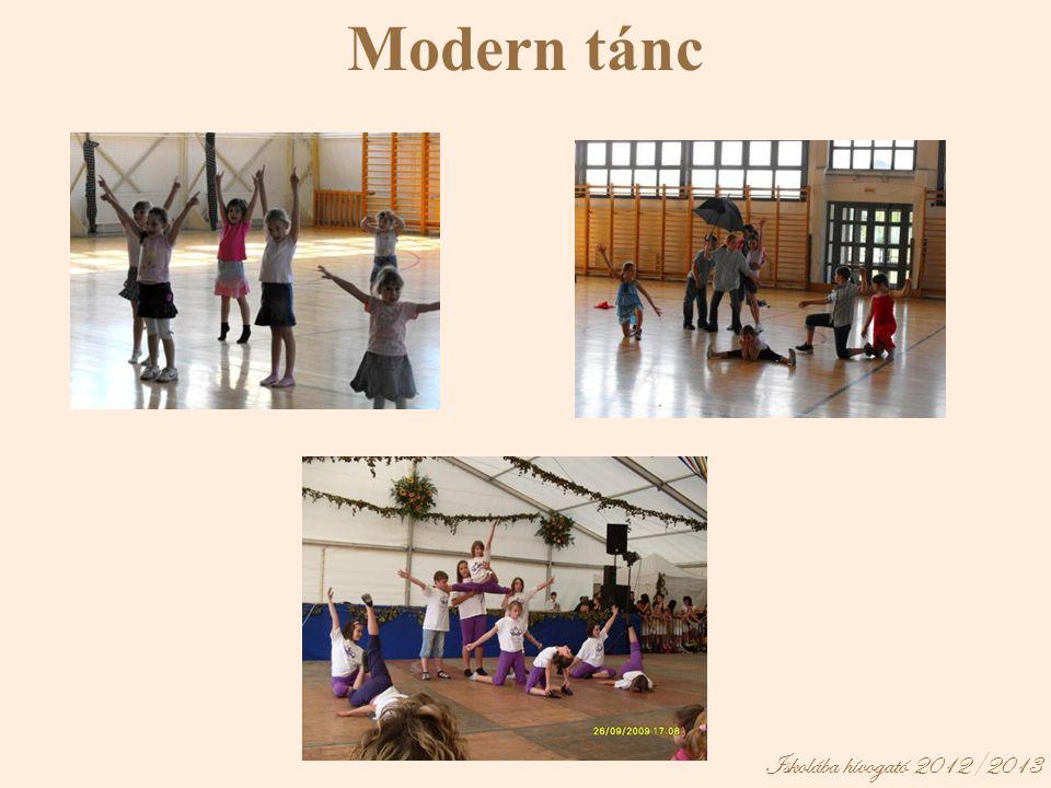 Modern tánc Iskolába hívogató 2012/2013