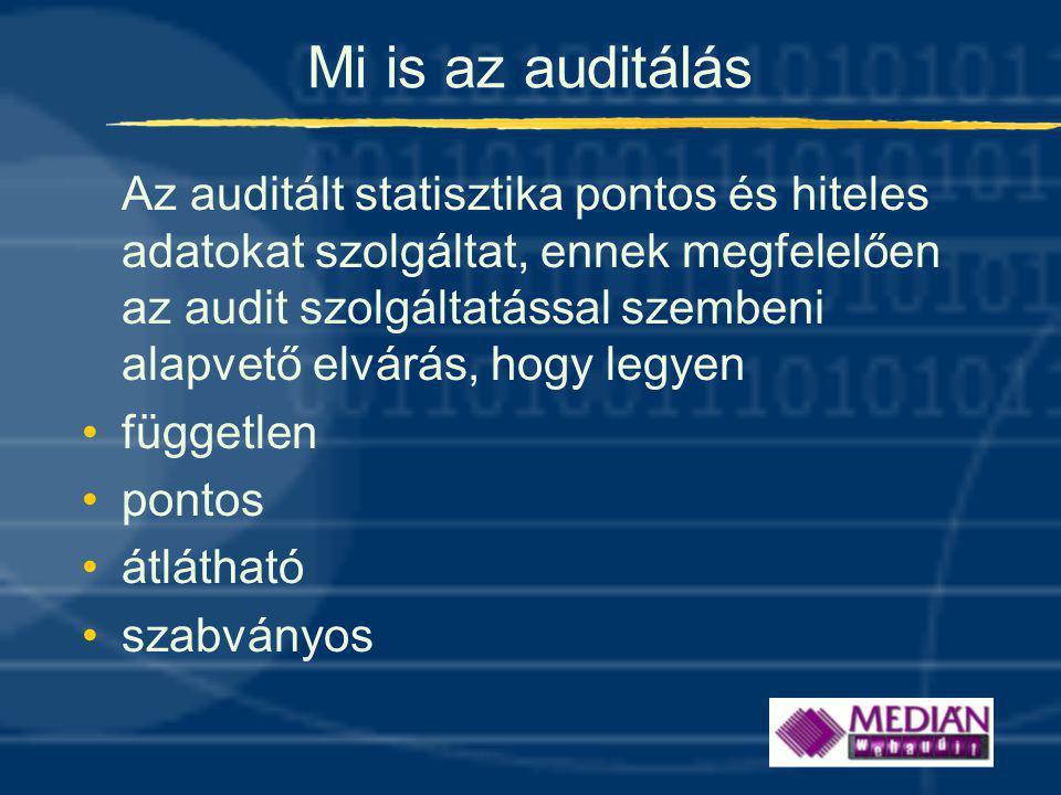 Mi is az auditálás