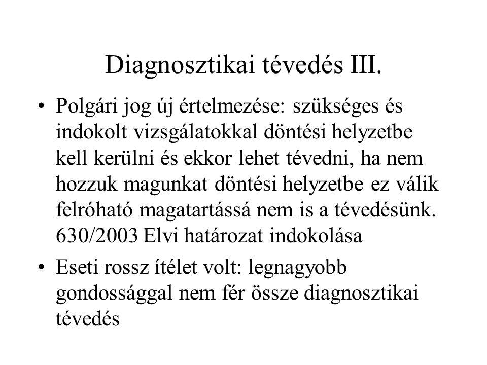 Diagnosztikai tévedés III.