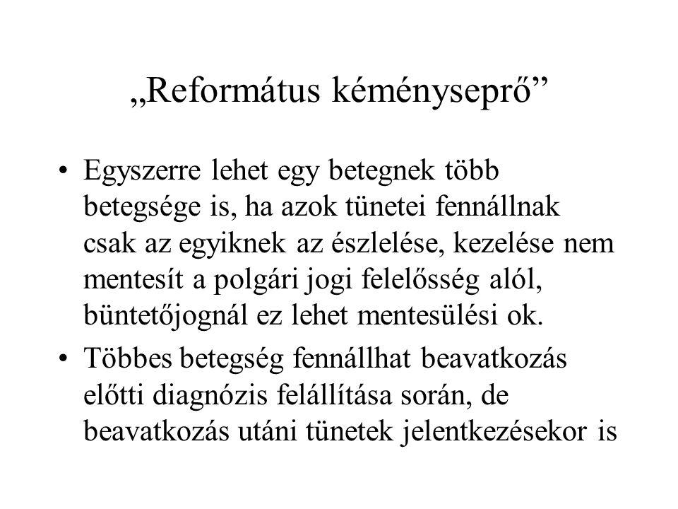 """""""Református kéményseprő"""