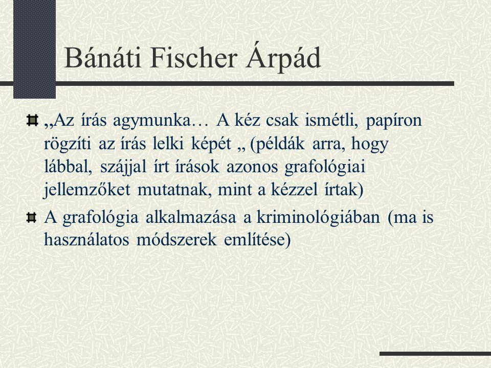 Bánáti Fischer Árpád