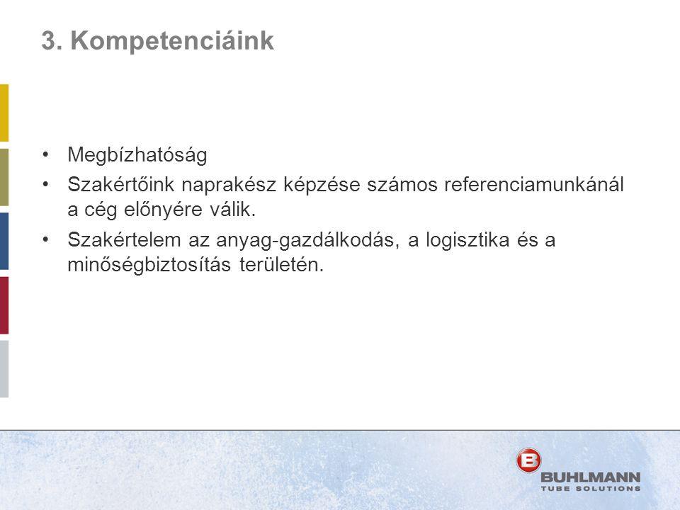 3. Kompetenciáink Megbízhatóság