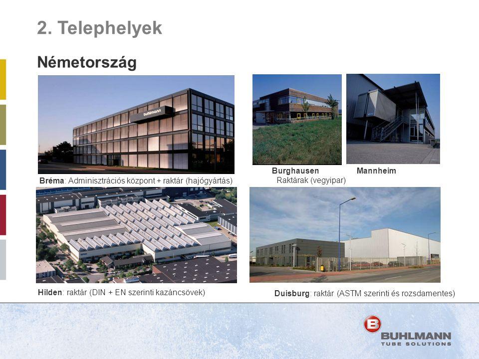Bréma: Adminisztrációs központ + raktár (hajógyártás)